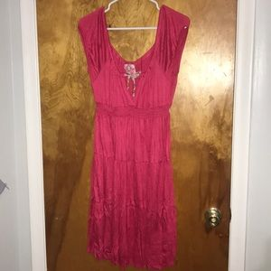 Free People Pink Knit Dress